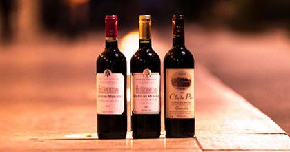 trois bouteilles du château